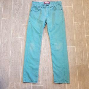Levis 511 Blue Skinny Jeans